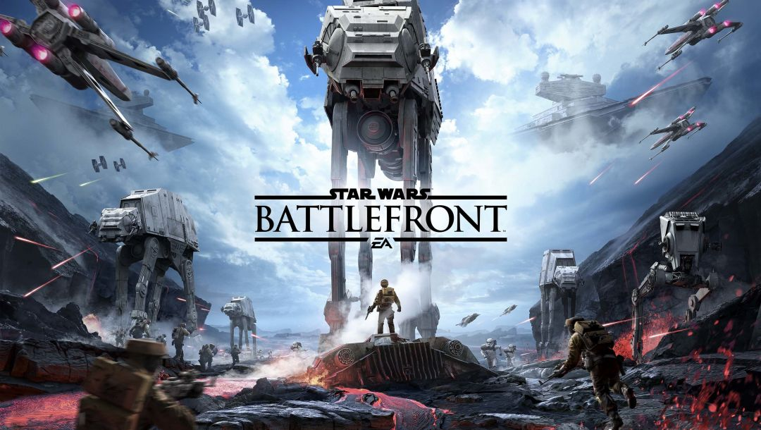 тучи,взрывы,Star wars: battlefront