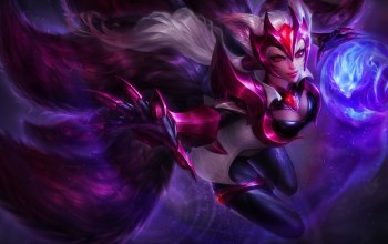 league of legends,ahri,nine-tailed fox