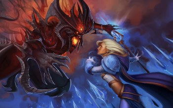 warcraft,jaina proudmoore,heroes of the storm