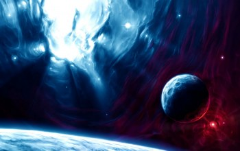 blue,planets,Red