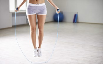 Jump rope,Aerobic,slippers,gym
