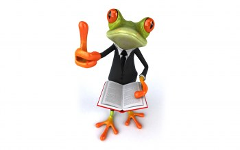 funny,Frog,book,Лягушка,suit