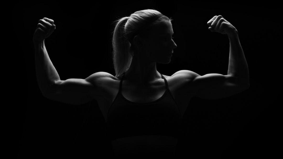 woman,pose,silhouette,muscles