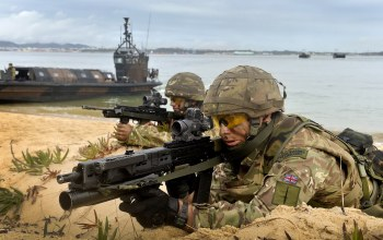 Royal marines,sa80,heckler & koch ag-36,camouflage