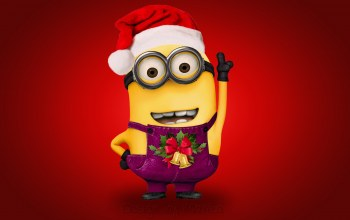 xmas,Santa,cute,christmas,Design by marika,рождество,minion