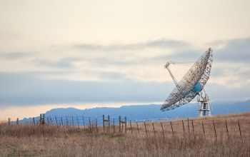 Radio telescope,california,stanford university