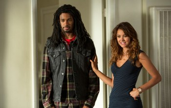 damon wayans,nina dobrev,Типа копы,lets be cops
