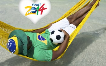 football,Brasil,hammock,flag