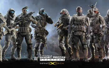 infinite pack,Бойцы,спецотряд,Ghost recon: phantoms