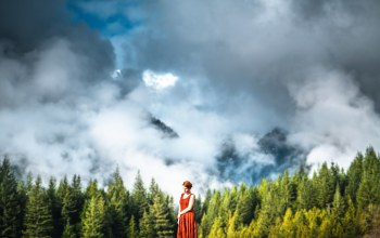 beauty of the forest,Lizzy gadd,Облака
