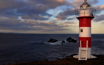 port de grave,canada,Green point lighthouse,atlantic ocean,newfoundland and labrador