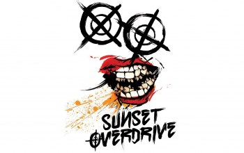 insomniac games,логотип,Sunset overdrive