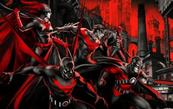 Gotham,comics,dc,batwoman,nightwing,Batman beyond,Red,red robin,red hood