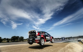red bull global rallycross championship,2015,nelson piquet jr,shr rallycross team