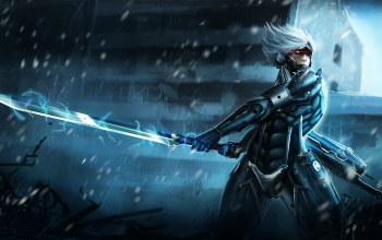 энергия,raiden,metal gear rising