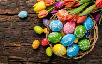 eggs,happy,spring,яйца,tulips,Easter,wood,holiday,colorful