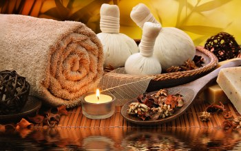 bath,salt,towel,Spa,candle