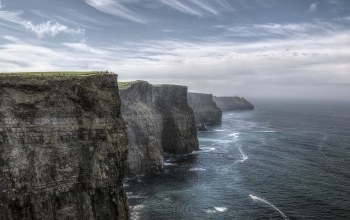 ireland,Cliffs of moher,atlantic ocean,rock