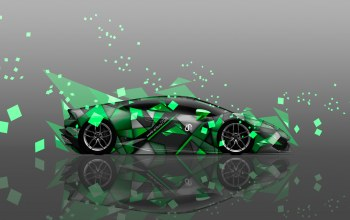 side,Abstract,colors,el tony cars,aerography,Lamborghini,Tony kokhan,car