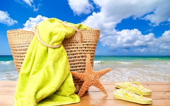 лето,summer,каникулы,vacation,towel,starfish,beach,accessories