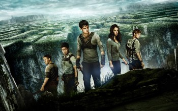 will poulter,The maze runner,ki hong lee, kaya scodelario,asian