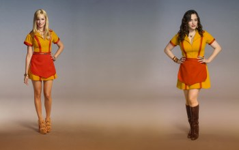 2 broke girls,beth behrs,Две девицы на мели,kat dennings