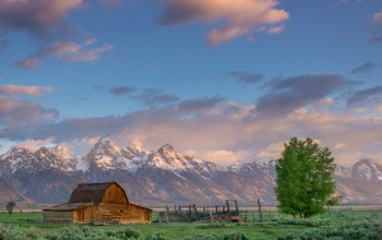 sunrise,morning,rocky mountains,grand teton