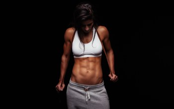 fitness gril,abs,workout,pose