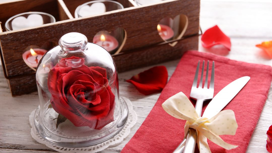 сервировка,романтика,candle,rose,Valentiness day
