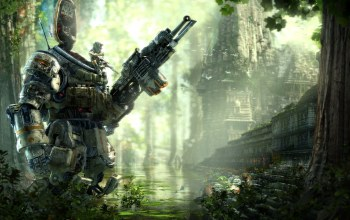 electronic arts,respawn entertainment,Titanfall: expedition,солдат