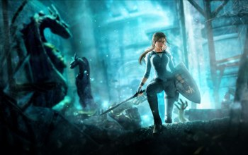 tomb raider,underworld,щит,Tomb raider: underworld