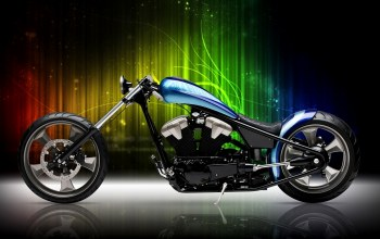 bike,motorcycle,Мотоцикл,custom,blue