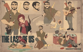 элли,joel,Ellie, naughty dog,джоэл,playstation 3,The last of us