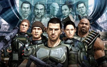 sega,Binary domain,characters