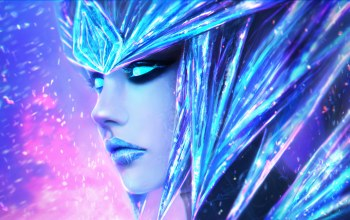 Ice drake,the half-dragon,league of legends,shyvana