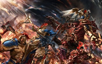 warhammer,битва,Gates of azyr,warhammer age of sigmar,Фантастика,война