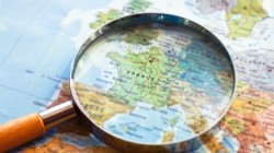 magnifier,europe,france,Political map