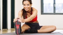 smile,look,slippers,Fitness,Elongation