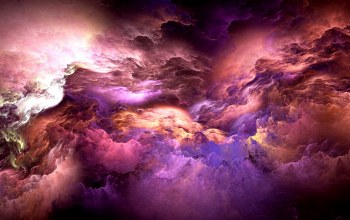 background,Abstract,clouds,unreal,colors,Облака