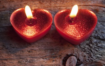 heart,light,Valentines day,candle,сердце,романтика