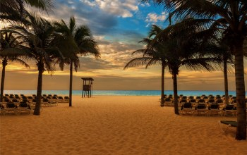 sand,paradise,beach,shore,tropical,Sunset