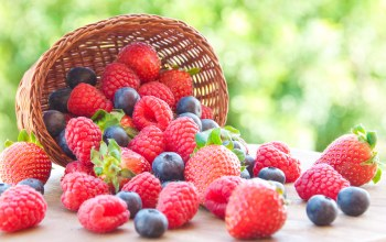 малина,raspberry,Blueberry,Strawberry,черника,berries