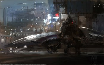 концепт-арт,Jong won park,spaceship,cg wallpapers,break,sci-fi