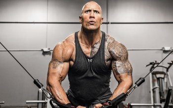 Machine,gym,dwayne johnson,workout,tattoo,the rock