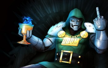 Marvel comics,плащ,victor von doom,злодей,маска,doom,Fantastic four