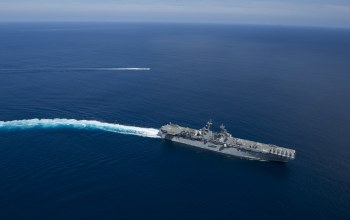 pacific ocean,Amphibious assault ship,uss boxer