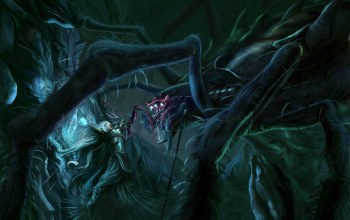 ungoliant,melkor,morgoth,the lord of the rings,john ronald reuel tolkien,jossand