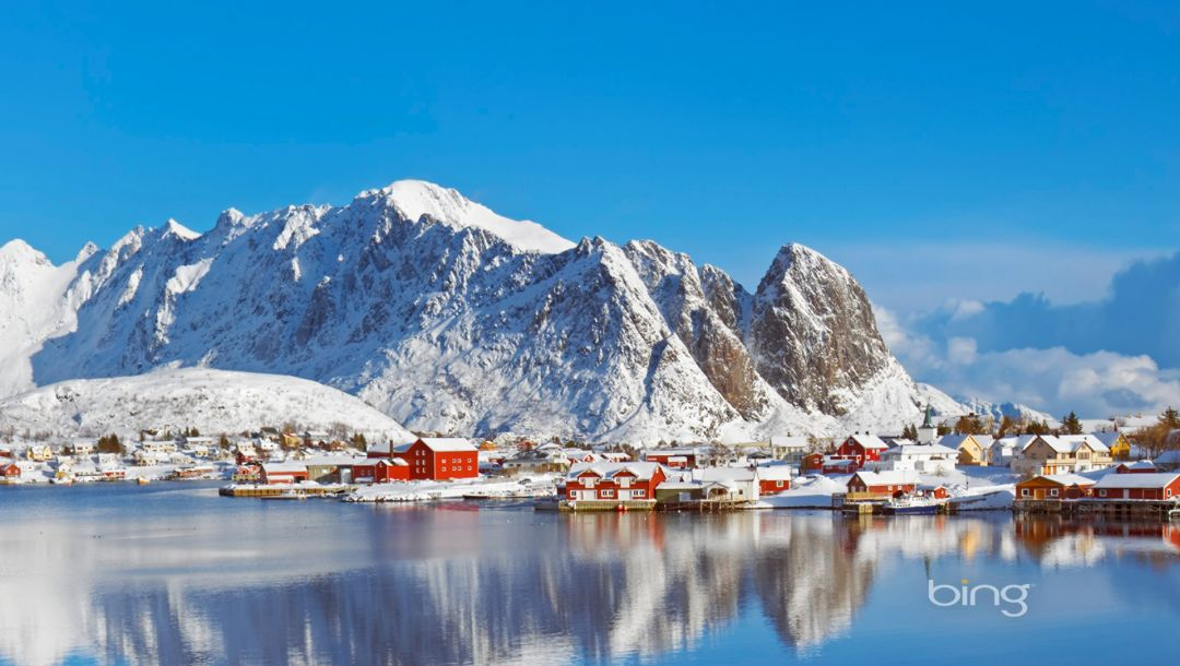 norway,Reine,Норвегия,Lofoten islands