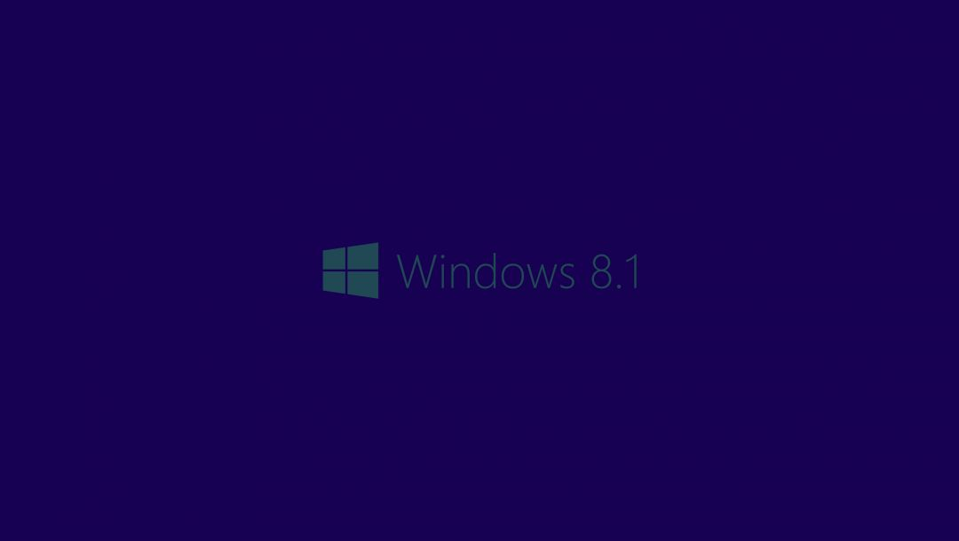 Windows 8.1,синий,логотип