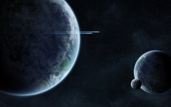 planets,spaceship,space,intelligent life